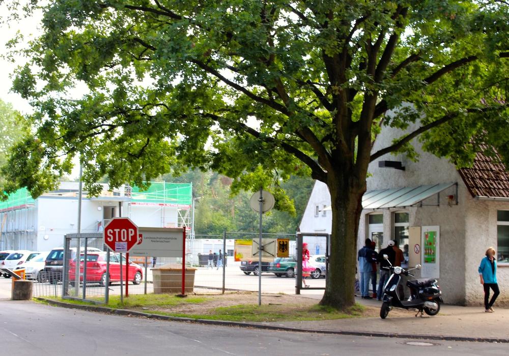 Die Landesaufnahmebehörde in Kralenriede. Foto: Archiv