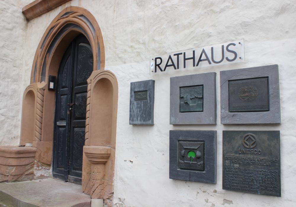 Die Grünen ziehen Bilanz und blicken auf die kommenden Aufgaben, Foto: Rathaus Goslar. A. Donner