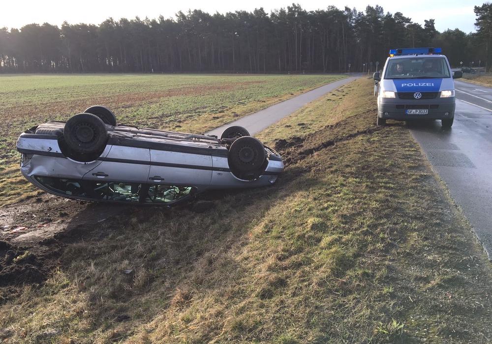 Bei Wesendorf überschlug sich ein Fahrzeug. Foto: aktuell24/bm