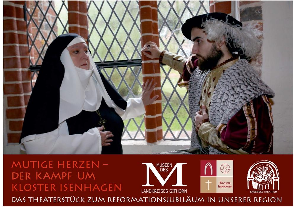 """Am Wochenende steht im Rittersaal das Theaterstück """"Mutige Herzen"""" auf der Bühne. Foto: Landkreis Gifhorn"""
