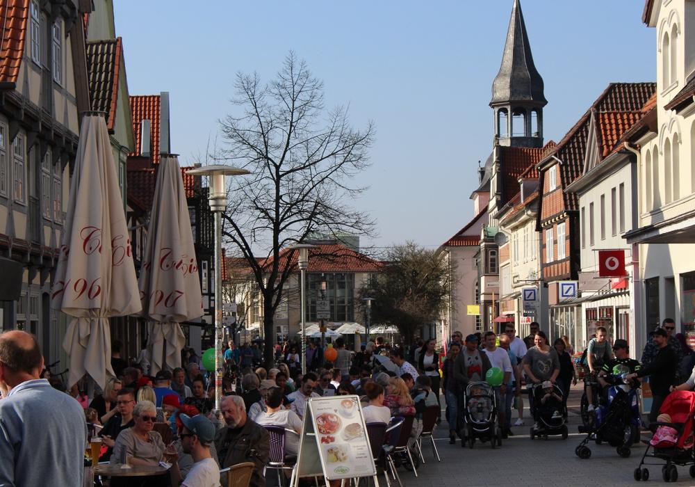Die Stadt lud zum Verweilen und Einkaufen. Fotos: Sandra Zecchino