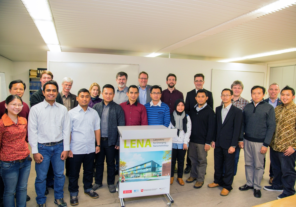 Expertise aus Braunschweig für Indonesien. Foto: TU BS