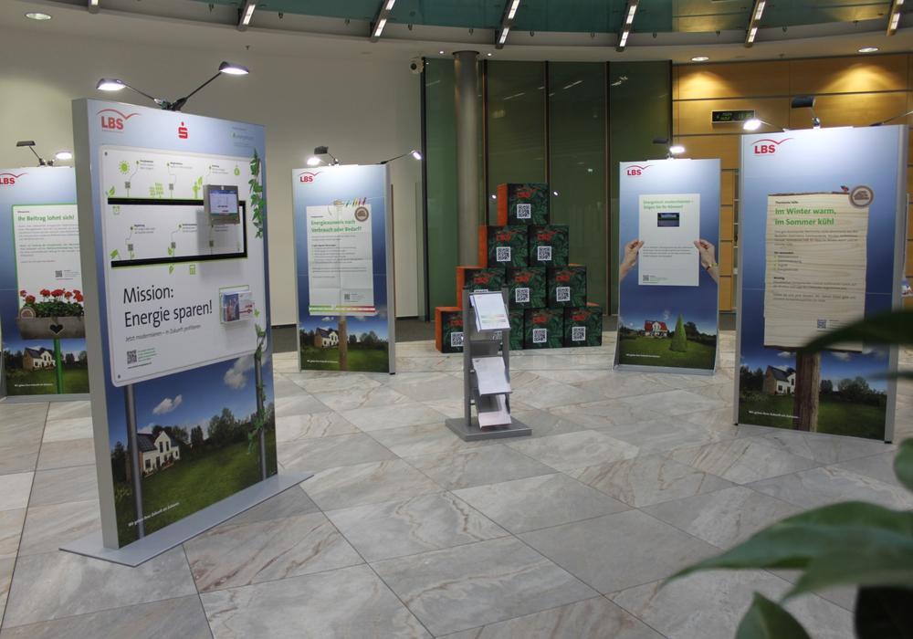 """Ausstellung """"Mission: Energie sparen!"""". Foto: Landessparkasse"""