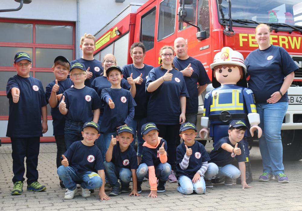 """In Schladen wurde am Samstag die Kinderfeuerwehr """"Löschlöwen"""" gegründet. Fotos: Anke Donner"""