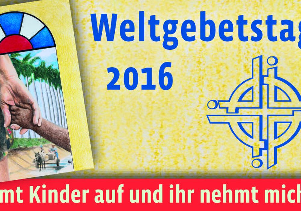 Banner zum Weltgebetstag 2016. Foto: Privat