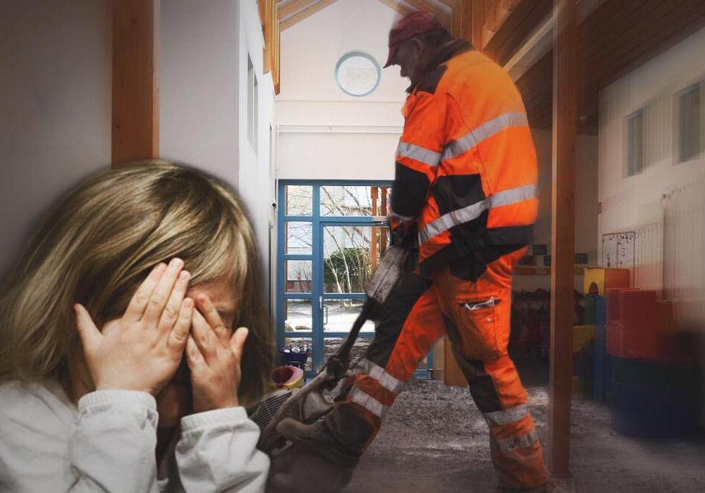 Ist die Baustelle nicht richtig abgesichert? Die Eltern hätten Angst, dass ihre Kinder in Gefahr schweben. Symbolfoto: Pixabay/Nick Wenkel