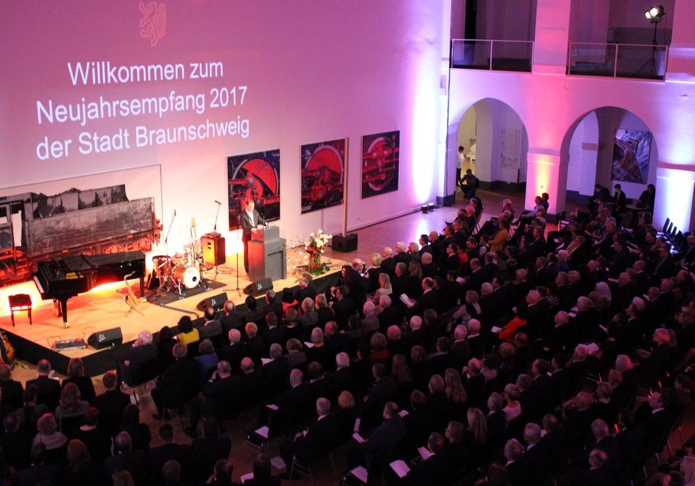 An die 400 Gäste waren beim Neujahrsempfang der Stadt Braunschweig. Fotos: Nick Wenkel