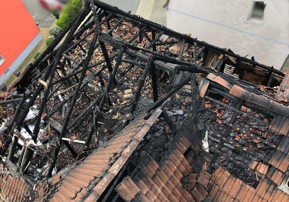 Immer wieder muss die Feuerwehr zur Brandruine in der Zickerickstraße ausrücken. Nun erklärt die Feuerwehr, warum das so ist. Foto: Feuerwehr Wolfenbüttel