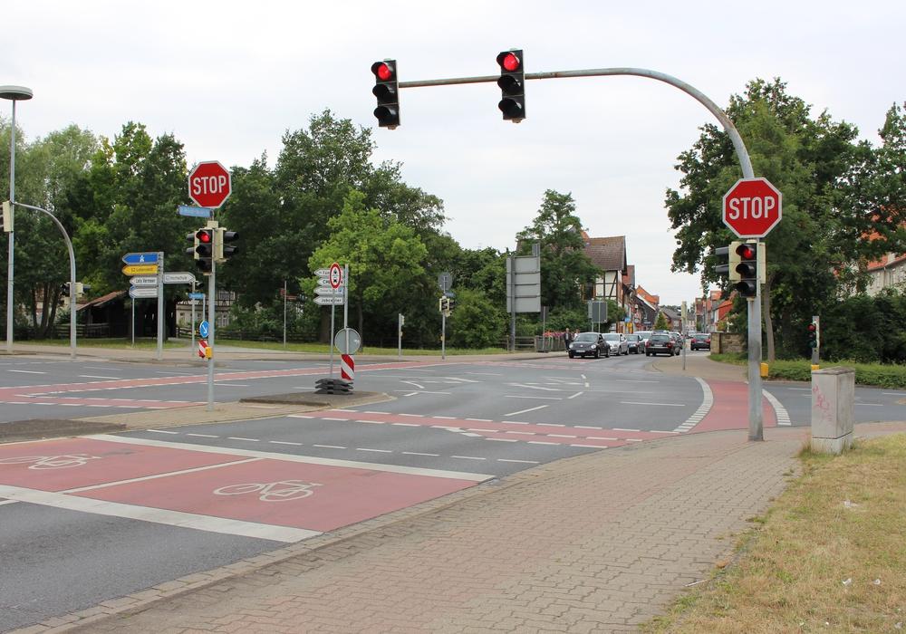 Keine direkte Durchfahrt  von der Innenstadt zur Auguststadt mehr möglich. Foto: Max Förster