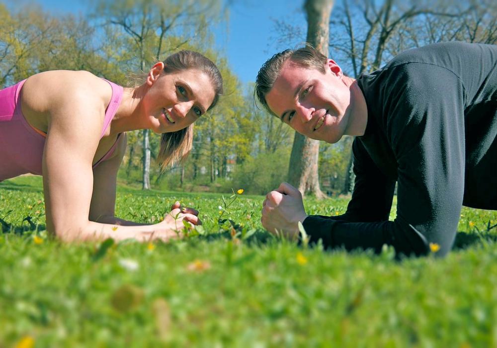 Joana Sell und Florian Brand wollen Wolfenbüttel fit machen. Foto: Privat