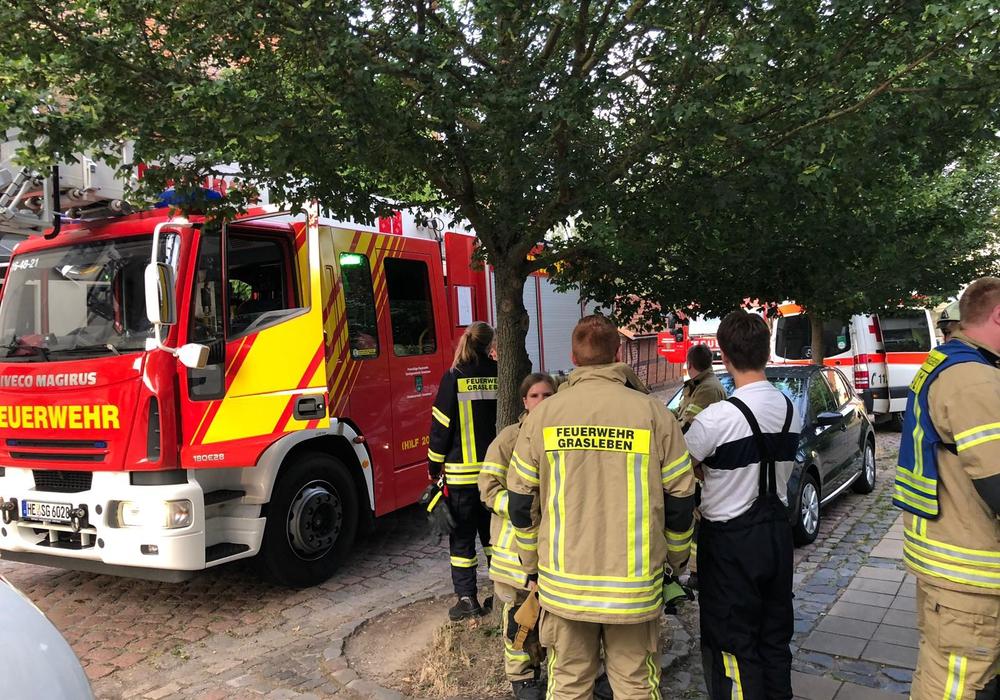 Der Zimmerbrand entpuppte sich als angebranntes Essen. Foto: Feuerwehr Grasleben
