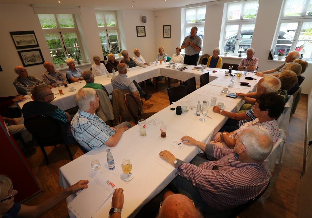 Die Seniorenunion hielt ihre Jahresmitgliederversammlung ab. Foto: Dieter Lorenz