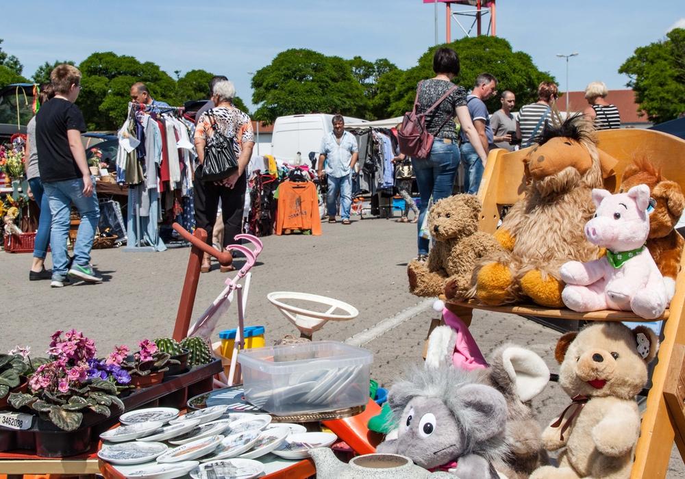 Die Sonntagsflohmärkte feiern ihr Comeback. Allerdings unter bestimmten Voraussetzungen. Symbolfoto: Rudolf Karliczek