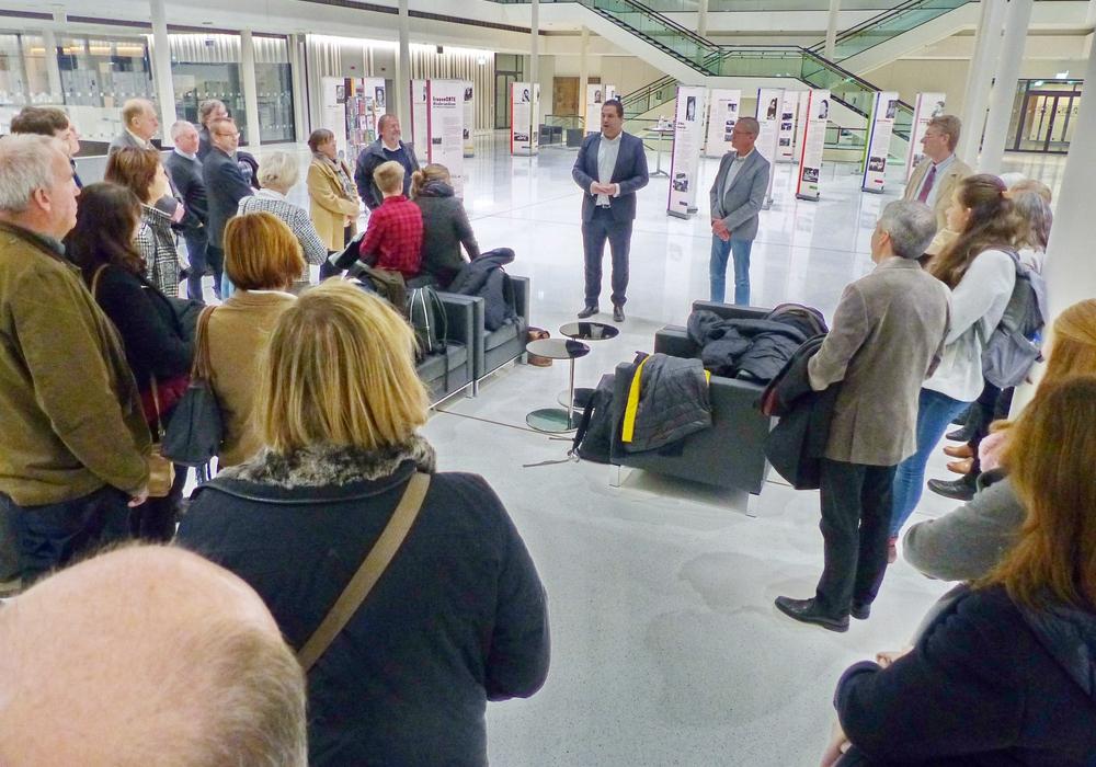 Heilmann begrüßte die Gruppe in Hannover. Foto: