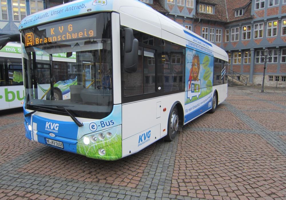 KVG setzt seit Ende 2016 Elektrobusse ein. Foto: KVG