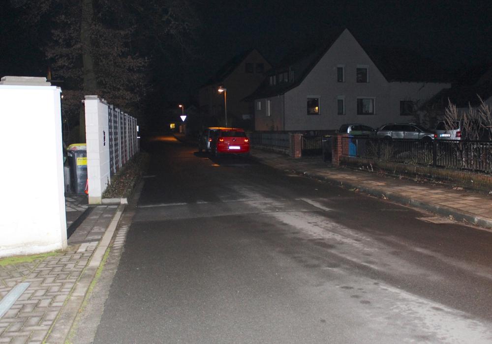 Auf der einen Seite (hier links) müssen die Anwohner auf einen Gehweg verzichten. Foto: Nick Wenkel