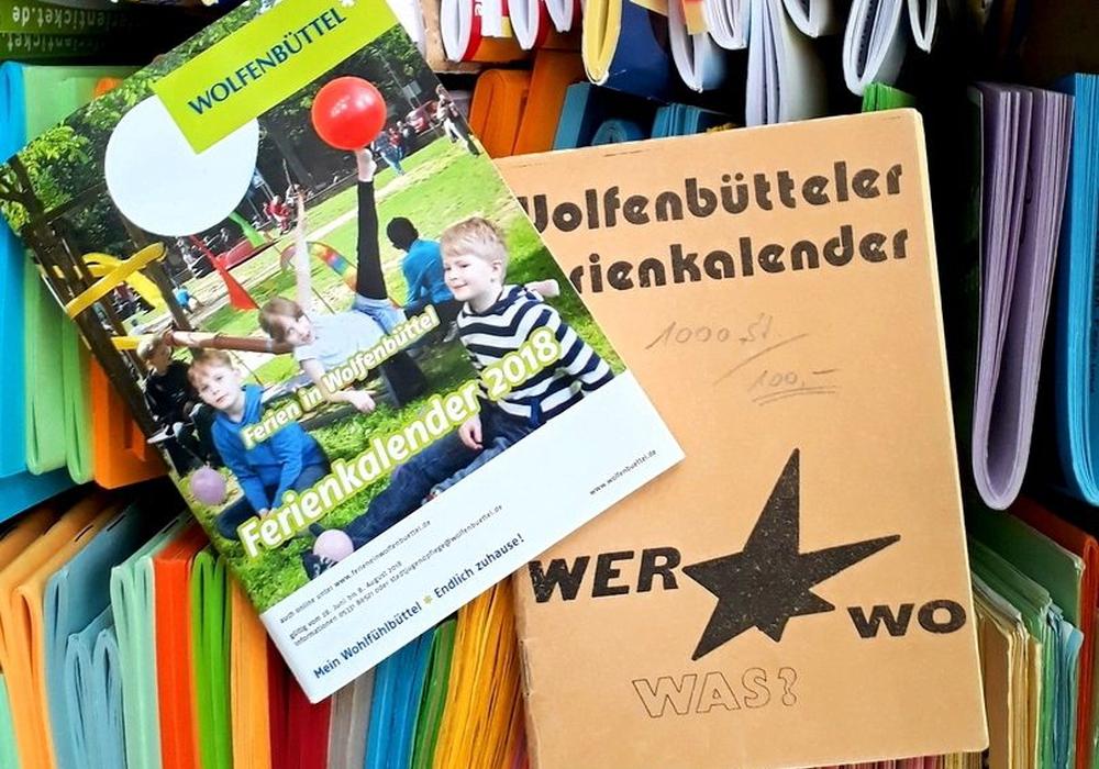 In diesem Jahr gibt es den Ferienkalender der Stadtjugendpflege seit 40 Jahren. Foto: Stadt Wolfenbüttel