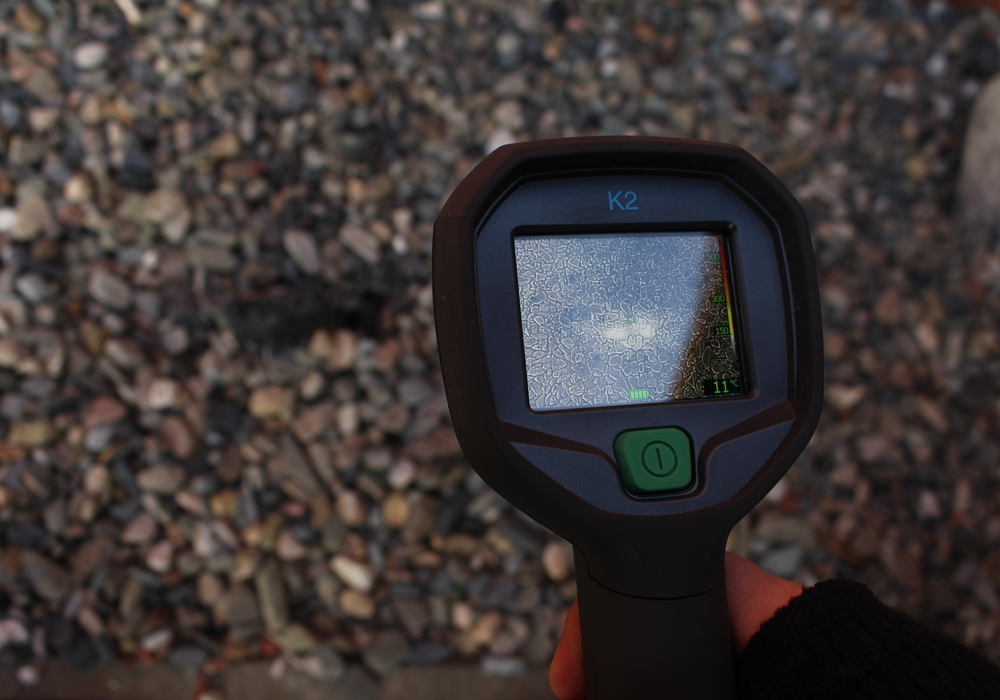 Wärmebildkamera Symbolfoto: Dontscheff