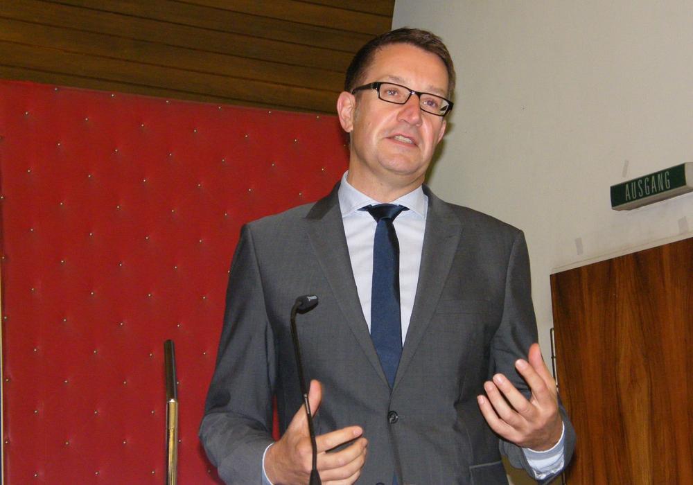 """Wirtschaftsdezernent Gerold Leppa wird die Eckdaten des geplanten Projektes """"Innovationsinkubator""""  dem Wirtschaftsausschuss vorstellen. Foto: Anke Donner"""