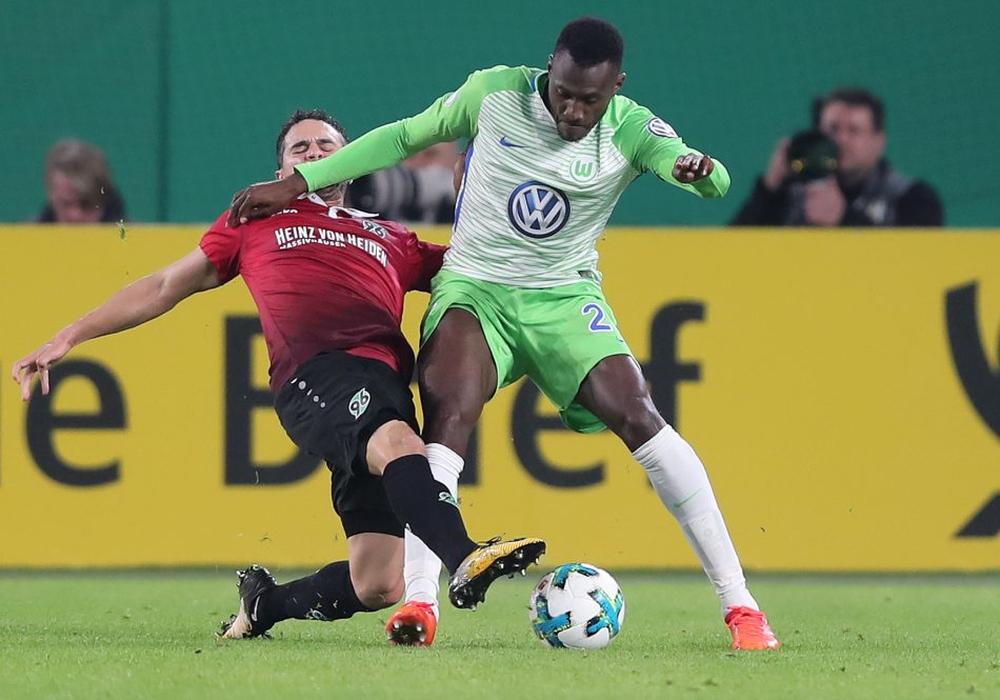 Alte Bekannte: Josuha Guilavogui und der VfL Wolfsburg treffen im DFB-Pokal auf Hannover 96. Foto: Agentur Hübner