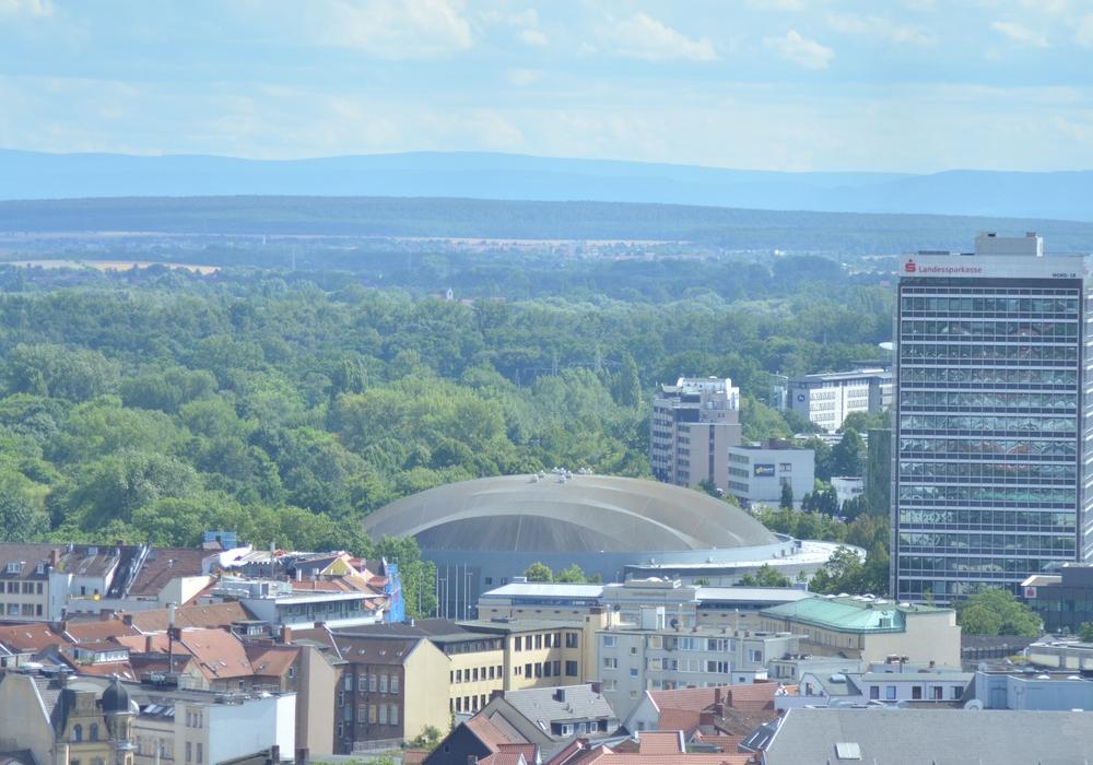 Auch in der VW Halle wird wird am Wochenende gefeiert. Foto: Sandra Zecchino