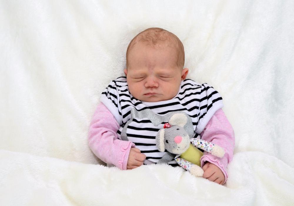 Willkommen, Elisa Sofie Nehlich. Foto: babysmile24.de