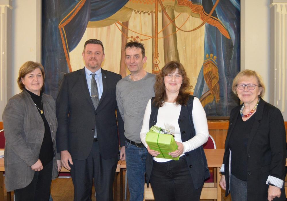 v.l.n.r. Kerstin Jäger, Andreas Busch, Torsten und Ina Möller, Edelgard Hahn. Foto: Dirk Fochler