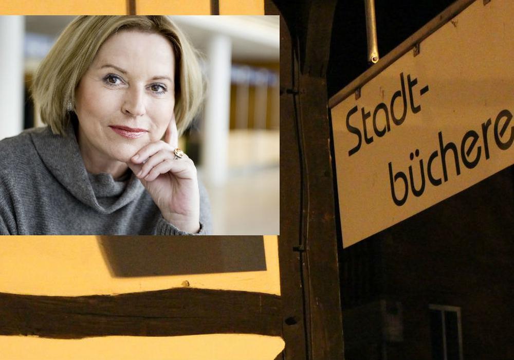 Bestsellerautorin Elisabeth Herrmann liest in der Stadtbücherei aus ihrem aktuellen Kriminalroman. Fotos: Frederick Becker/Random House (Isabelle Grubert)