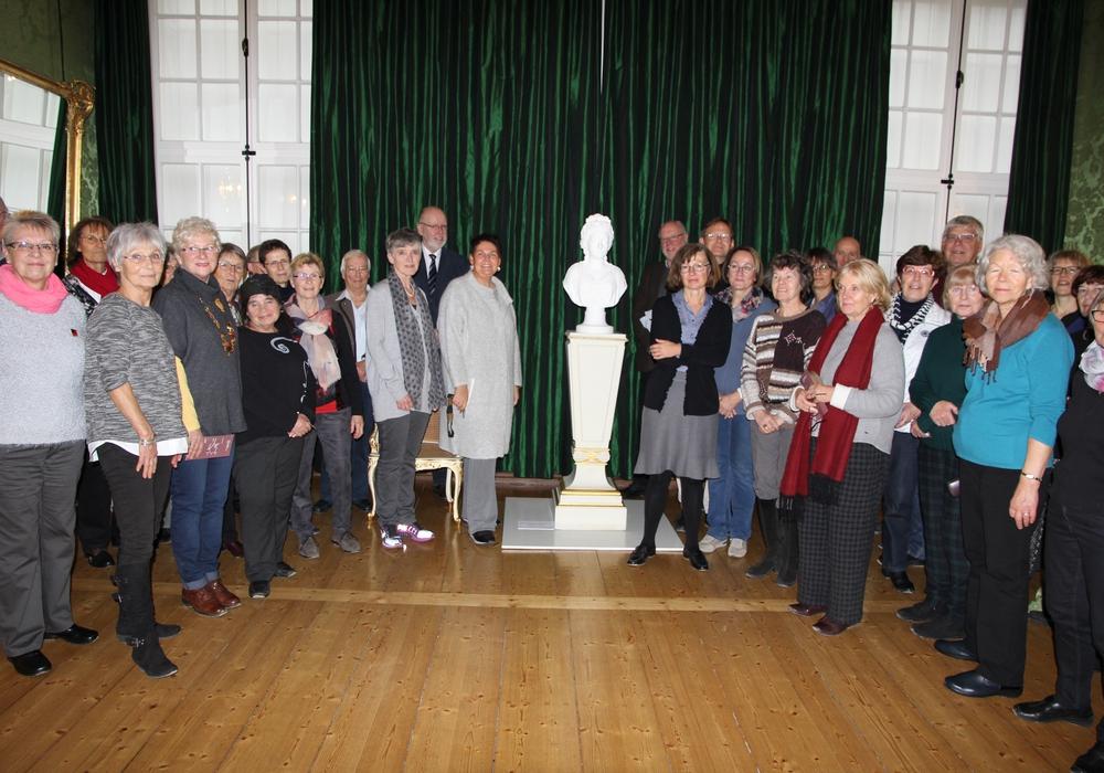 Mitglieder der Weimarer Kunstgesellschaft besuchten das Schloss Museum Wolfenbüttel. Foto: Privat