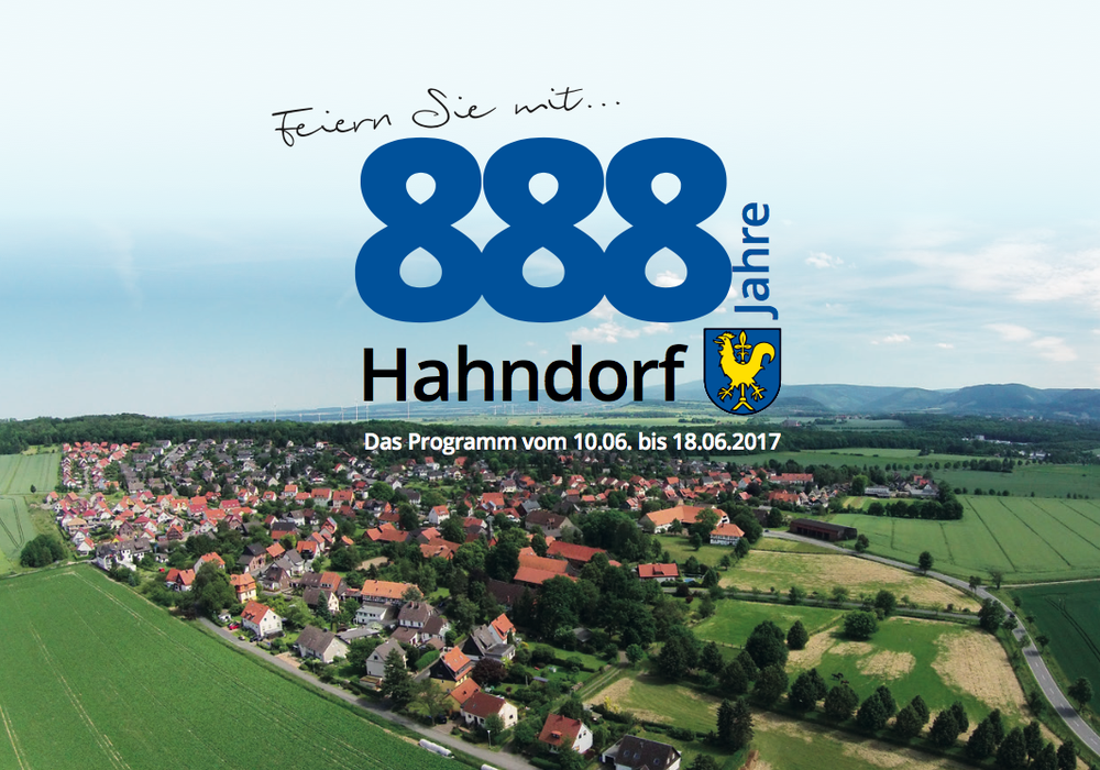 Plakat: AG Hahndorf