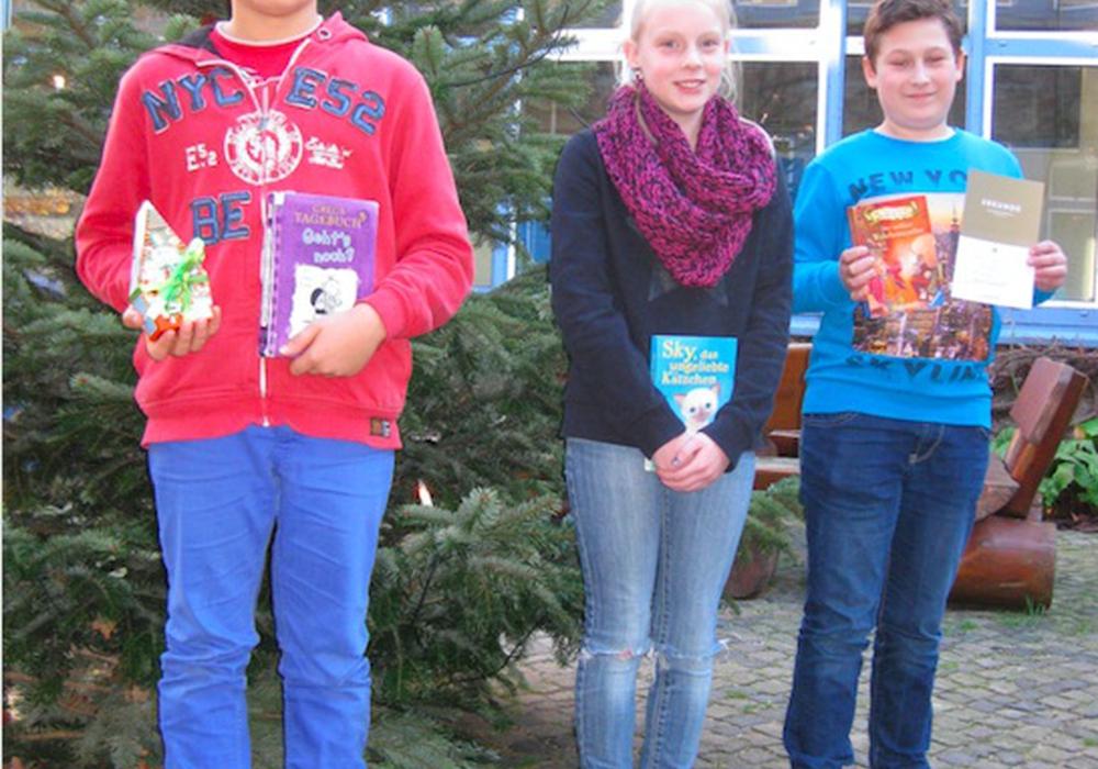 Die Gewinner des Vorlesewettbewerbs. Foto: Privat