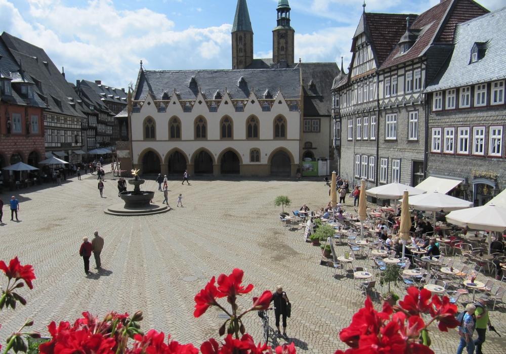 Ein aktueller Blick auf den Marktplatz. Foto: GOSLAR marketing gmbh