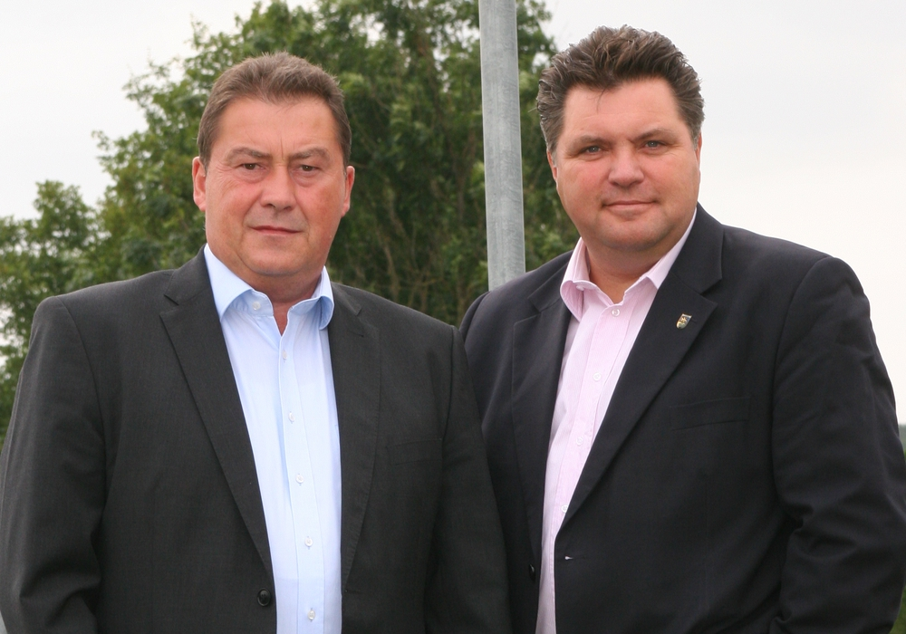 Uwe Schäfer (links) wurde von der CDU erneut als stellvertretender Landrat nominiert. Foto: CDU