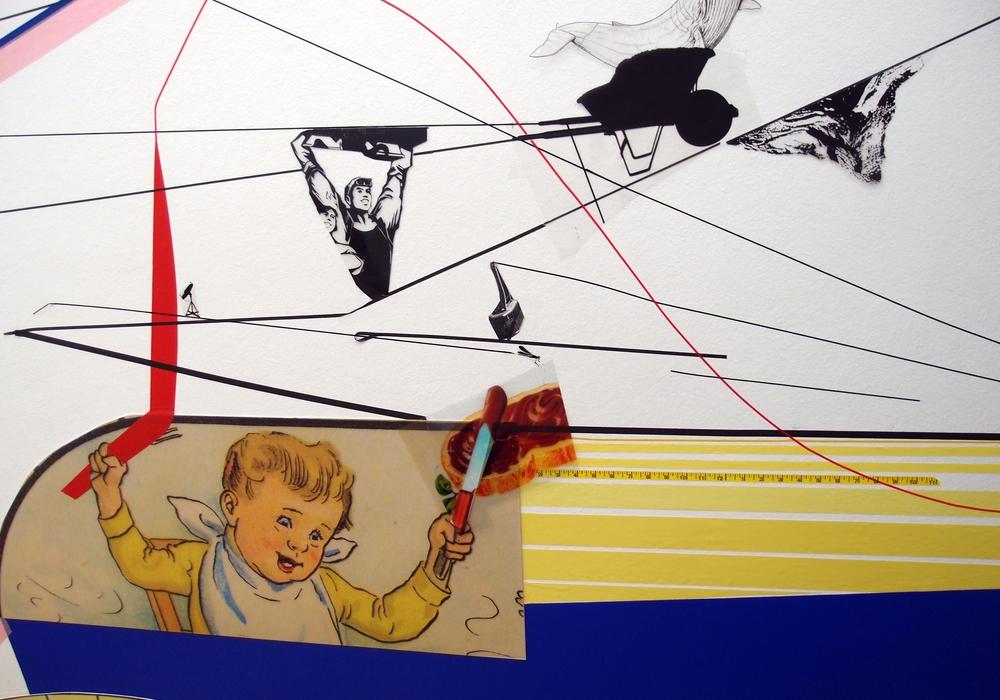 """Detailansicht aus der Ausstellung """"Zulieferer unter Druck"""" von Nic Hess. Foto: Stadt Wolfsburg"""
