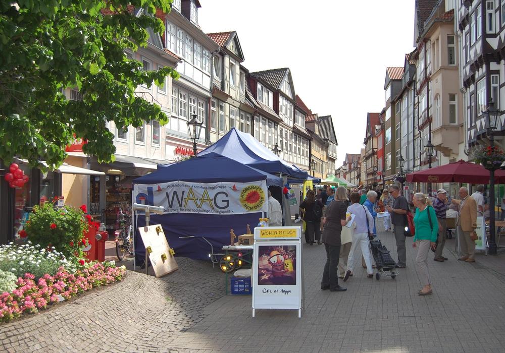 Statt der Mahnwache gibt es einen Infostand beim Wolfenbütteler Umweltmarkt. Foto: E. Bischoff