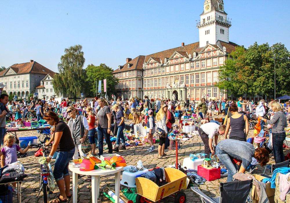Bei zahlreichen Flohmärkten kann in der Region wieder ordentlich gestöbert werden. Symbolfoto: Thorsten Raedlein