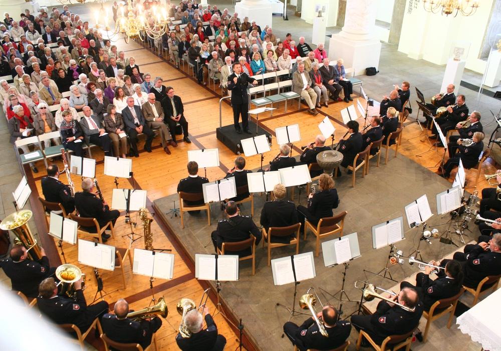 Am Donnerstagabend spielt das Polizeiorchester Niedersachsen für Satu Mare. Foto: