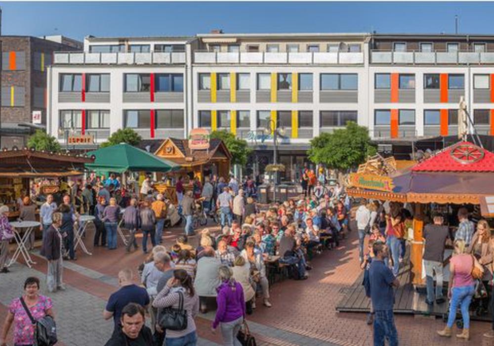 Die Lebenstedter Einkaufsmeile. Foto: Stadt Salzgitter