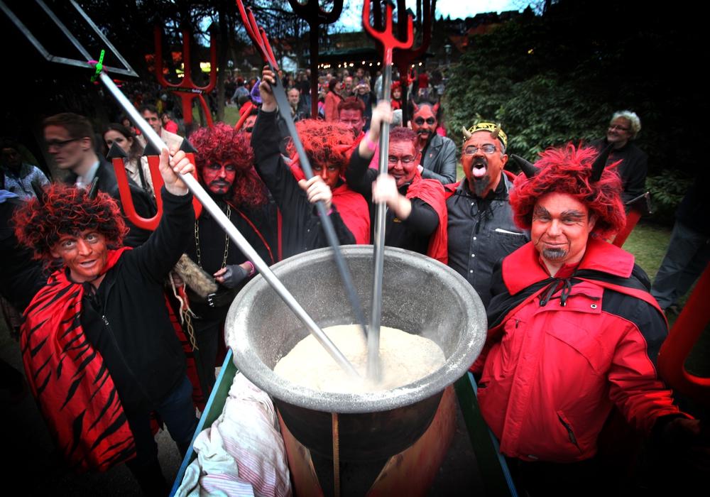 An diesem Wochenende ist der Teufel los. Foto: Braunlage Tourismus Marketing GmbH
