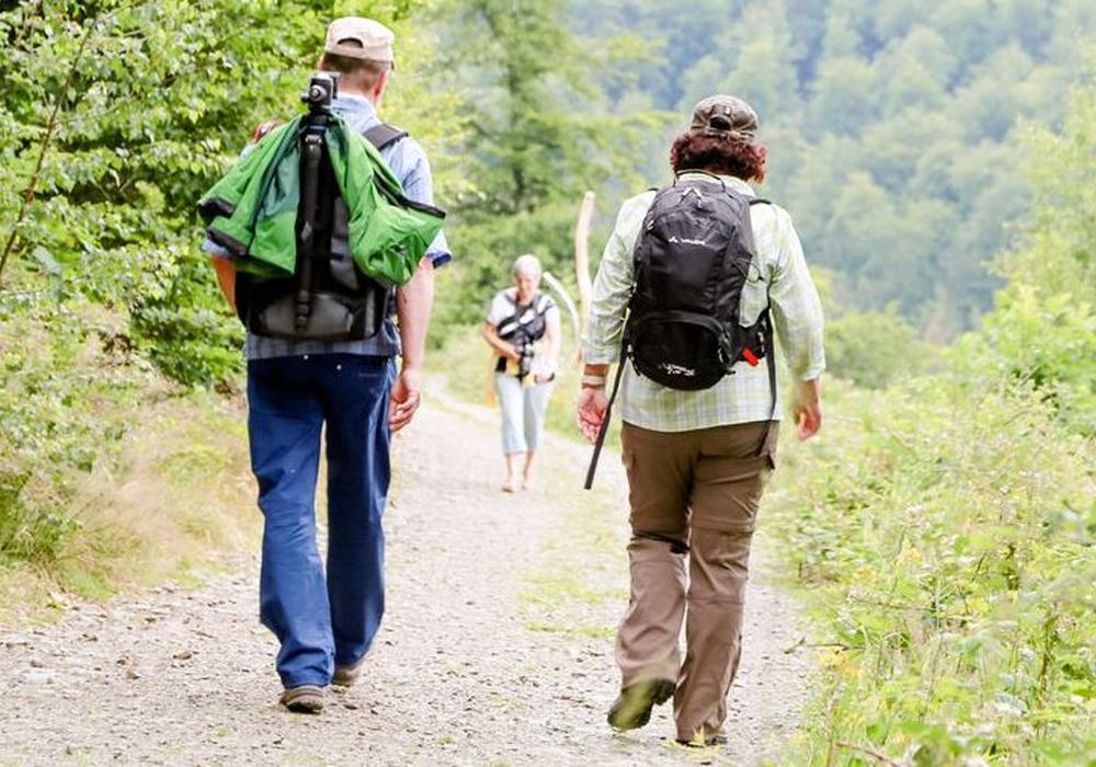 Die rund 26 Kilometer langen Touren zum Brocken lassen sich mit guter Laune und Ausrüstung locker laufen. Foto: Kur-, Tourismus- und Wirtschaftsbetriebe der Stadt Bad Harzburg GmbH