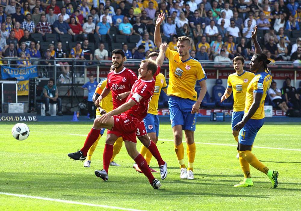 Im Vorjahr ging es in der ersten Runde gegen Würzburg. Foto: Bernhard Grimm