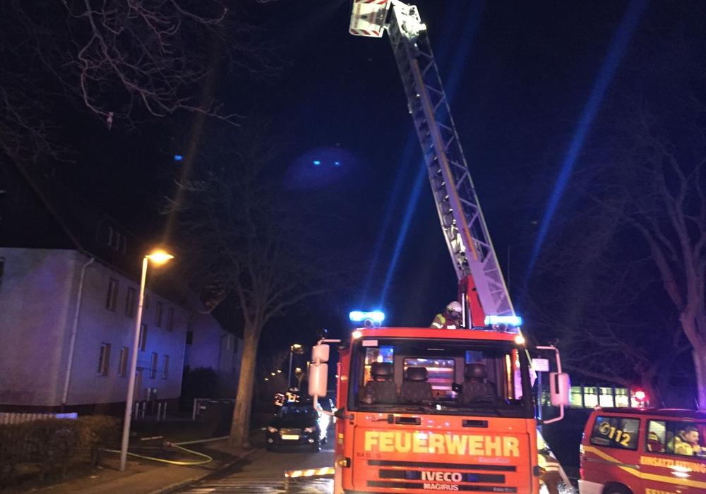 Kellerbrand in Bad Harzburg Schreiberhauer Straße. Fotos/Redakteur vor Ort: Nino Milizia