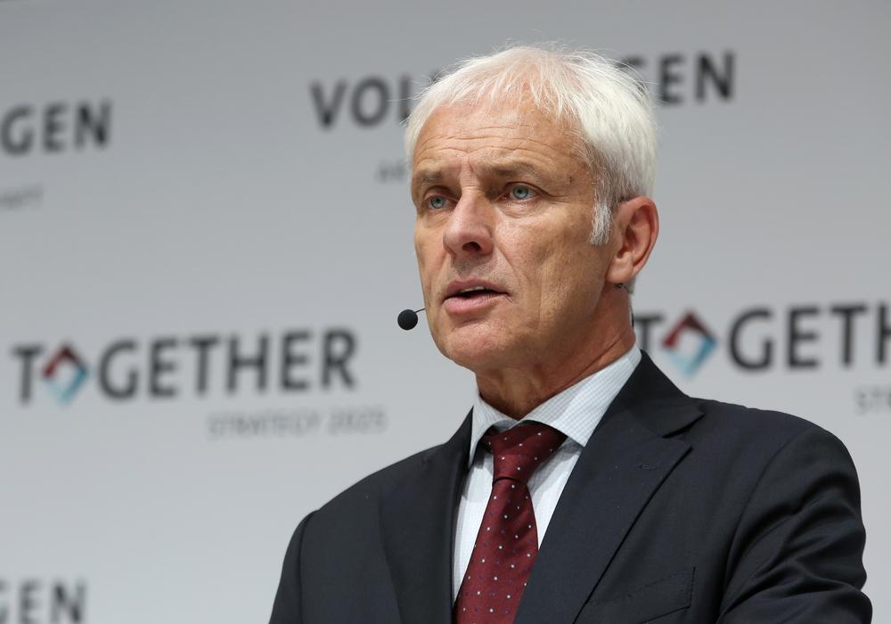 Vorstandsvorsitzender Matthias Müller steht bei Volkswagen vor dem Aus. Foto: VW