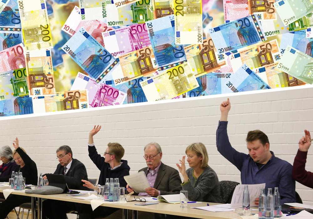 Die Mitglieder des Kulturausschusses empfehlen mehr Entscheidungskompetenz für Bürgermeister Thomas Pink (3. v.l.) Foto/Montage: Werner Heise / pixabay