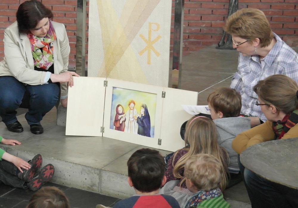 Kindergottesdienst Versöhnungskirche. Foto: Privat