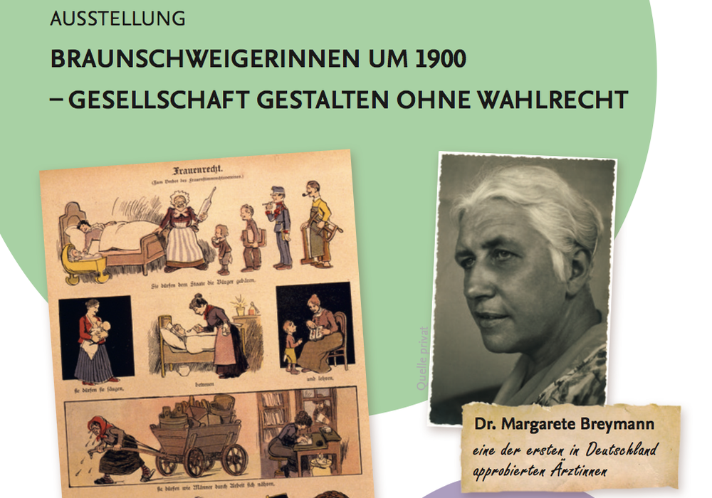 Plakat: Gleichstellungsreferat der Stadt Braunschweig