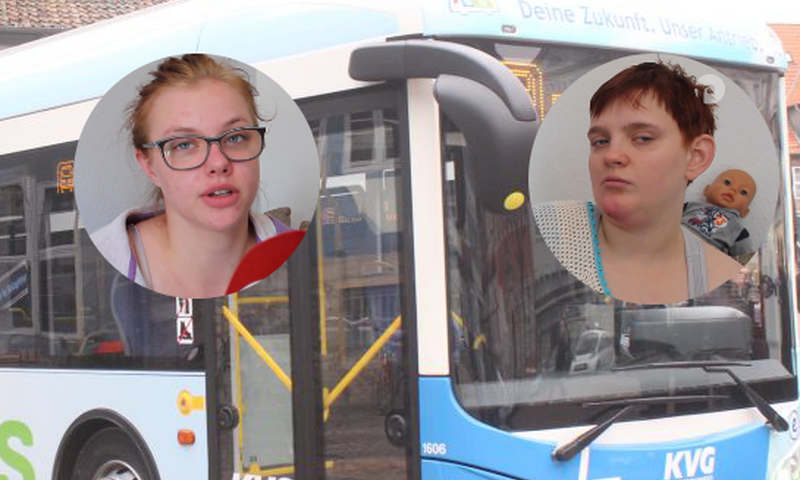 Unfreundliche Busfahrer