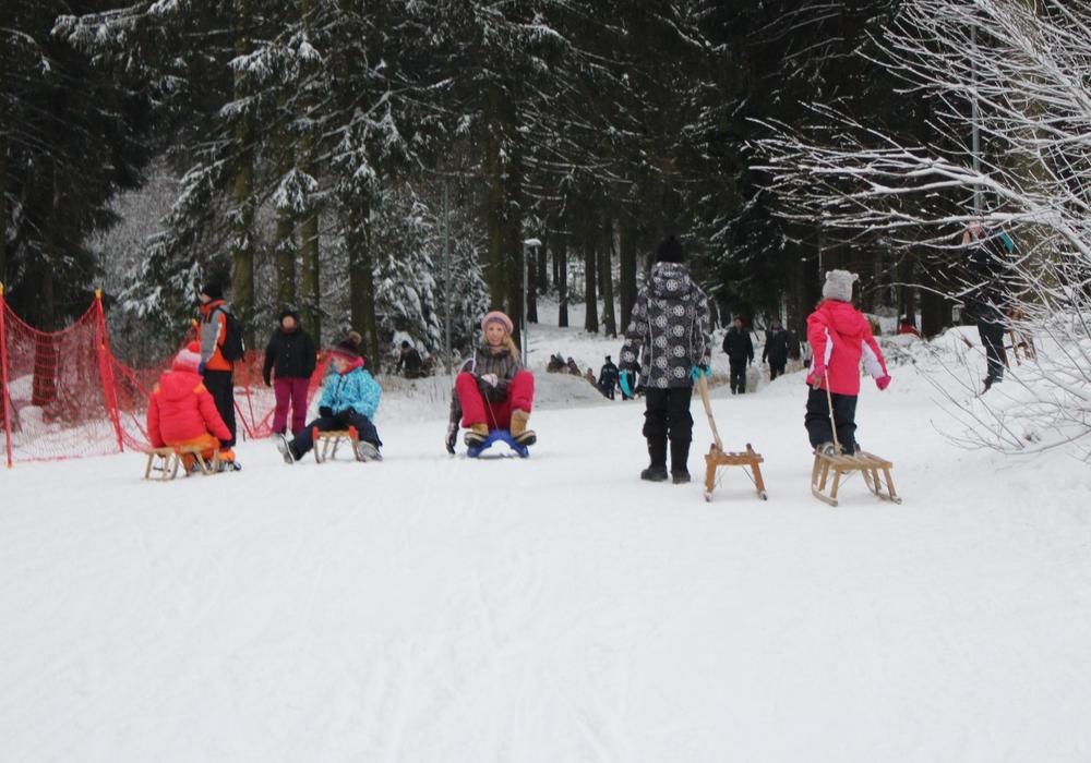 Unterhaltungsprogramm beim Winterfest in Hahnenklee. Foto: Alexander Panknin