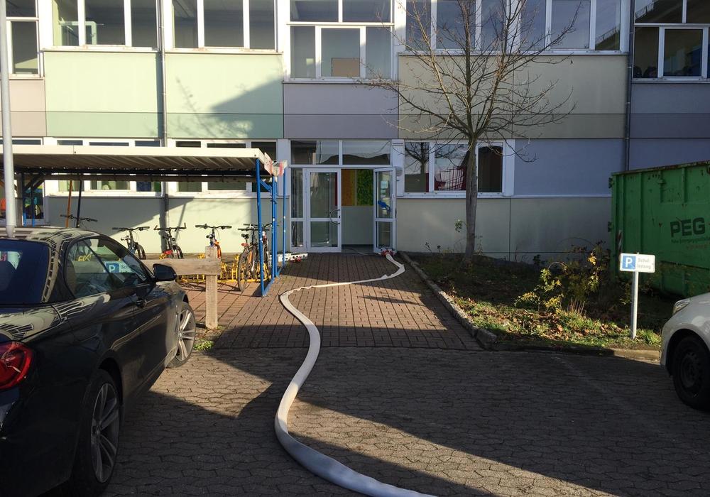 Die Feuerwehr konnte den Entstehungsbrand löschen. Fotos: aktuell24/Kr