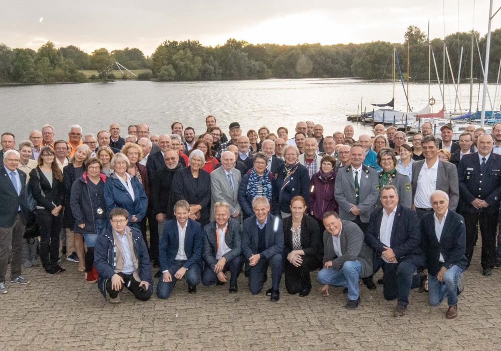 Mit dabei waren neben rund 100 Vertretern der Projektträger auch Mitglieder des Kuratoriums von Bund, Land und der Stadt Salzgitter.  Foto: Rudolf Karliczek
